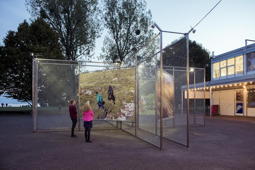"""""""no man's land"""" de Christian Lutz au Théâtre de Vidy à Lausanne. Photo © Delphine Schacher / Festival Images Vevey 2016"""