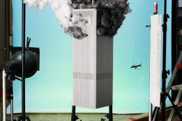 "Jojakim Cortis & Adrian Sonderegger, Icons, Making of ""9/11"" (by John Del Giorno, 2001), 2013 © Jojakim Cortis & Adrian Sonderegger"