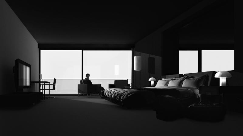 """© Hans Op De Beeck, """"Room (1)"""", Room Series."""