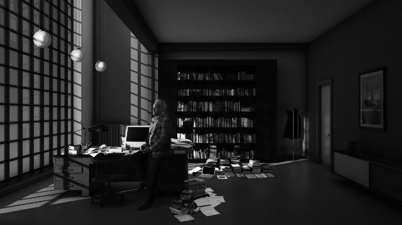 """© Hans Op De Beeck, """"Room (2)"""", Room Series."""