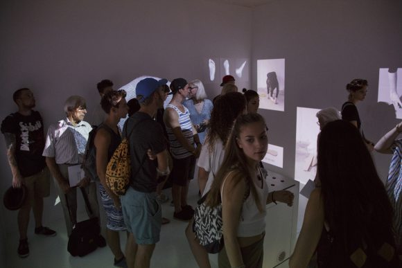 The group exhibition