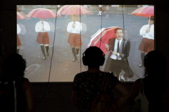Découverte de l'univers visuel du groupe Ok GO à la Ferblanterie- Photo © Céline Michel / Festival Images Vevey 2016