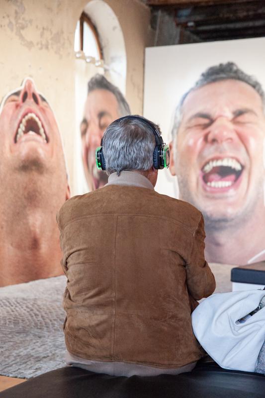 L'exposition immersive de Marcos Chaves présentée au Chateau de l'Aile ©Images Vevey /Diana Martin