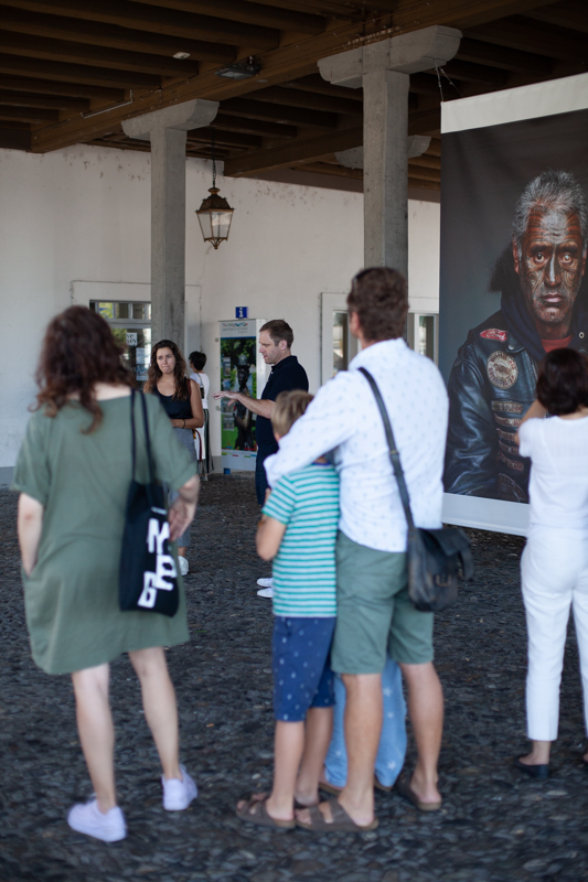 Meeting Jono Rotman in his exhibition