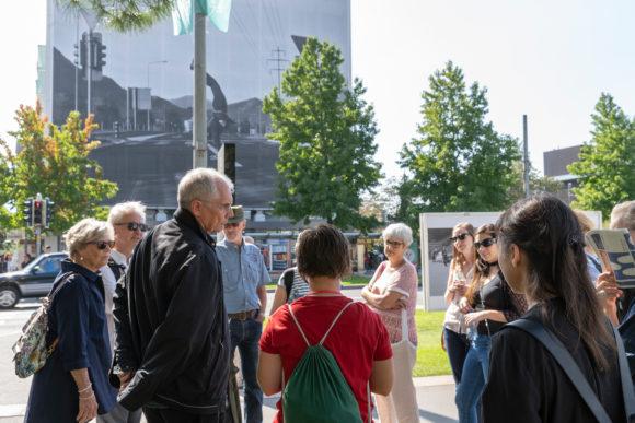 Meeting Urs Odermatt in his dad's exhibition location  ©Images Vevey / Julien Gremaud