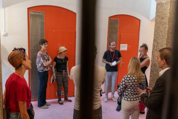 Meeting Angelique Stehli in her exhibition